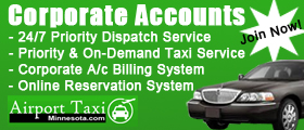 Minneapolis Corporate Taxi Account Service