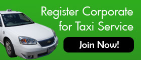 Register for Minneapolis Corporate Taxi Service